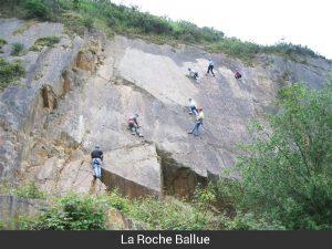 Grimpe La Roche Ballue